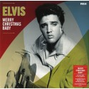 PRESLEY Elvis : LP Merry Christmas Baby