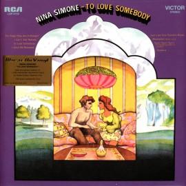 SIMONE Nina : LP To Love Somebody