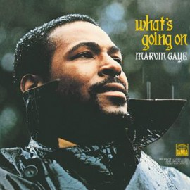GAYE Marvin : LP What's Going On Gatefold (feutrine)