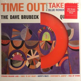 BRUBECK Dave : LP Time Out (colored)