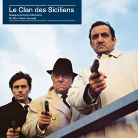 MORRICONE Ennio : LP Le Clan Des Siciliens