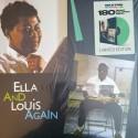 FITZGERALD Ella & ARMSTRONG Louis : LP Ella And Louis Again