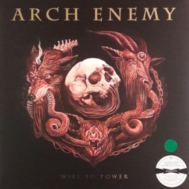 ARCH ENEMY : LP+CD Will To Power
