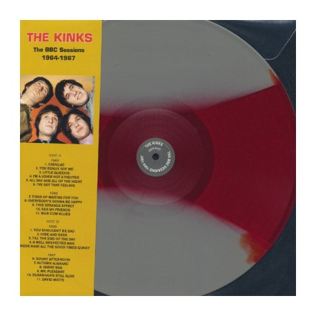 KINKS (the) : LP The BBC Sessions 1964-1967