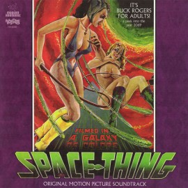 CASTLEMAN William Allen : LP+DVD Space Thing Original Motion Picture Soundtrack