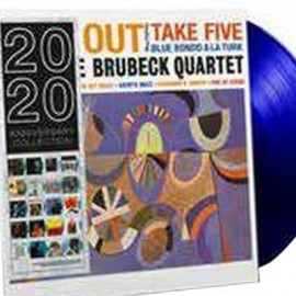 BRUBECK Dave : LP Time Out (blue)