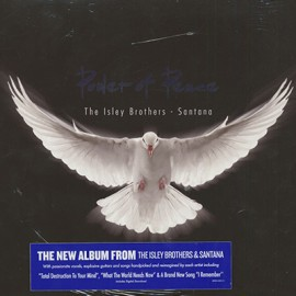 SANTANA / ISLEY BROTHERS (the) : LPx2 Power Of Peace