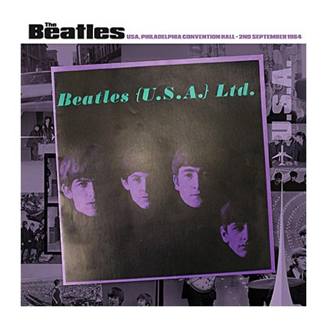 BEATLES (the) : LP Philadelphia Convention Hall - 2nd September 1964