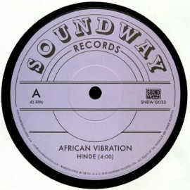 """AFRICAN VIBRATION : 12""""EP Hinde"""