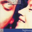 ENDRESEN Sidsel / BUGGE WESSELTOFT : CD Nightsong