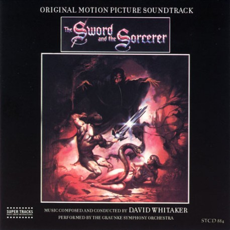 WHITAKER David : CD The Sword And The Sorcerer