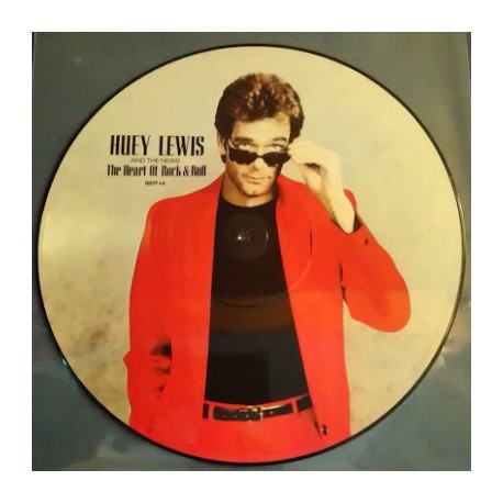 """HUEY LEWIS AND THE NEWS : 12""""EP Picture The Heart Of Rock & Roll"""