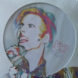 BOWIE David : LP Best Of Los Angeles 1974