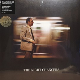 BAXTER DURY : LP The Night Chancers (colored)