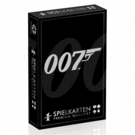 CARTES A JOUER JAMES BOND 007