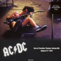 AC/DC : LP Paradise Theater Boston MA, August 21st 1978