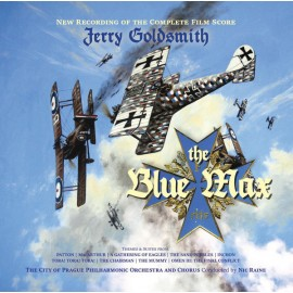GOLDSMITH Jerry : CDx2 The Blue Max (New Recording Of The Complete Film Score)