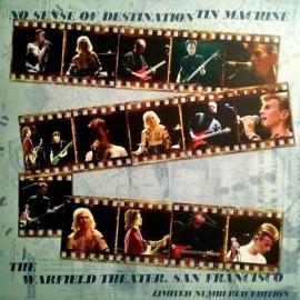 TIN MACHINE : LP No Sense Of Destination (The Warfield Theater, San Francisco) - Blue