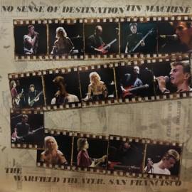 TIN MACHINE : LP No Sense Of Destination (The Warfield Theater, San Francisco) - Red
