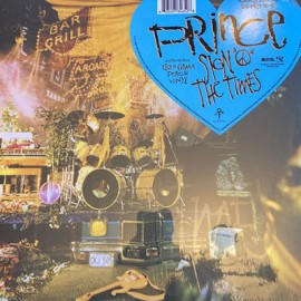 "PRINCE : LPx2 Sign ""O"" The Times"