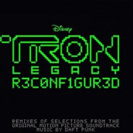 DAFT PUNK : LPx2 Tron Legacy Reconfigured