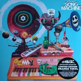 GORILLAZ : LP Song Machine Season One (orange)