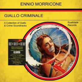MORRICONE Ennio : LP Giallo Criminale