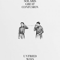 SOLARIS GREAT CONFUSION : LP Untried ways