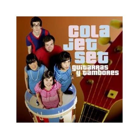 COLA JET SET : LP Guitarras Y Tambores