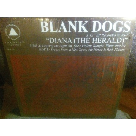 """BLANK DOGS : 12""""EP Diana (The Herald)"""