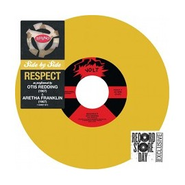 REDDING Otis / FRANKLIN Aretha : Side By Side : Respect