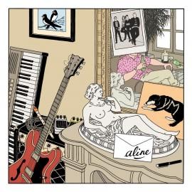"""ALINE : 12""""EP Je Bois Et Puis Je Danse"""