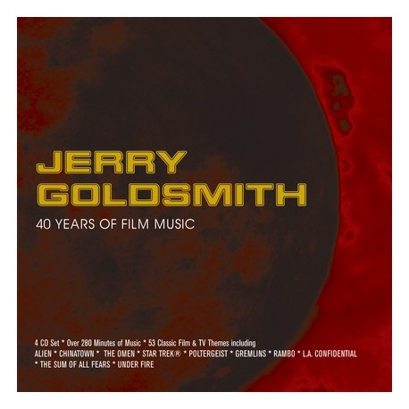 GOLDSMITH Jerry : 4xCD 40 Years Of Film Music