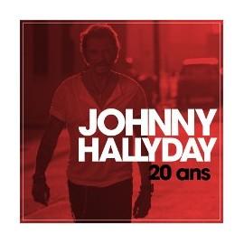 """JOHNNY HALLYDAY : 10""""EP 20 ans"""
