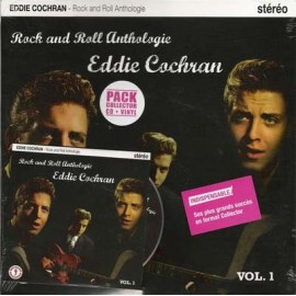 "EDDIE COCHRAN : 10""LP+CD Rock And Roll Anthologie"