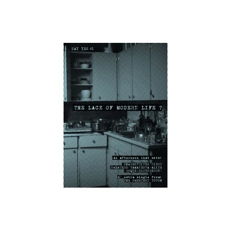 """VARIOUS : Zine + 3""""CD The Lack Of Modern Life"""