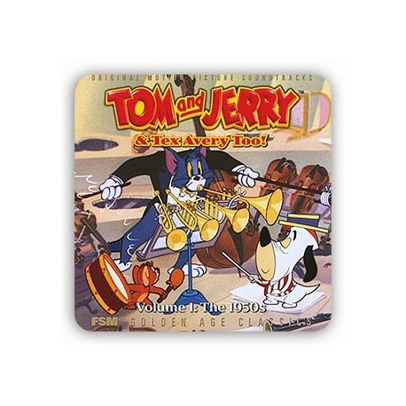 SCOTT BRADLEY : CDx2 Tom And Jerry & TexAvery Too ! Volume 1 : The 1950's
