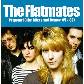 FLATMATES (the) : 2xLP PotPourri (Hits, Mixes & Demos 85-89)
