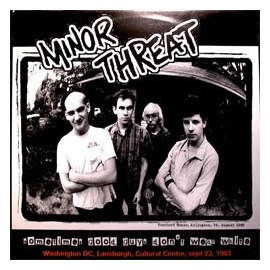 MINOR THREAT : LP Sometimes Good Guys Don't Wear White