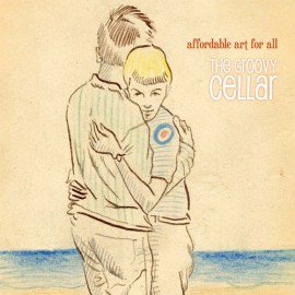 GROOVY CELLAR (the) : LP Affordable Art For All