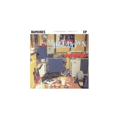 """RAMONES : 10""""EP Meltdown with the Ramones"""
