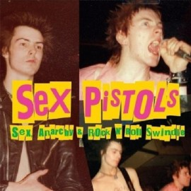SEX PISTOLS : LP Sex, Anarchy & Rock N' Roll Swindle
