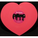 "BEATLES (the) : 10""EP Love Me Do Pink Heart"