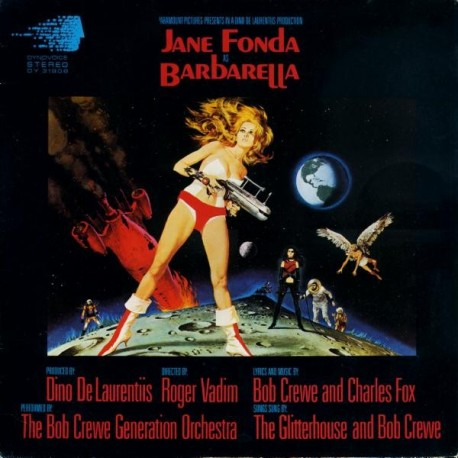 BOB CREW GENERATION ORCHESTRA (the) : LP OST Barbarella