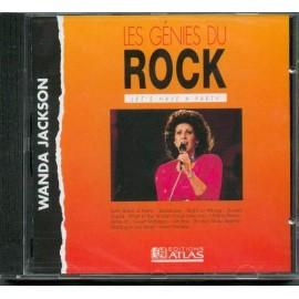 JACKSON Wanda : CD Les génies Du Rock