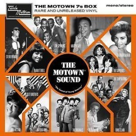 "MOTOWN 7'S BOX (the) : 7x7""EP Rare And Unreleased Vinyl"
