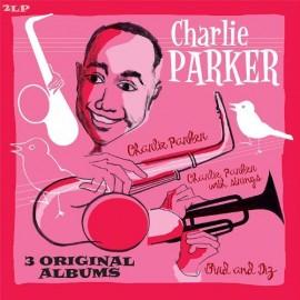 PARKER Charlie : LPx2 3 Original Albums