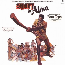 PATE Johnny : LP OST Shaft In Africa
