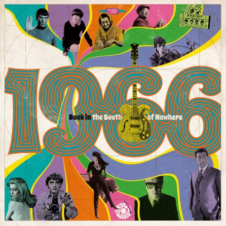 VARIOUS : CD 1966 Back The South Of Nowhere