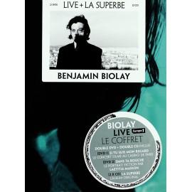 BIOLAY Benjamin : CDx2, DVDx2 La Superbe + Live